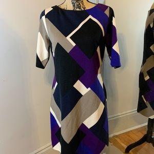 Eliza J Geometric Dress